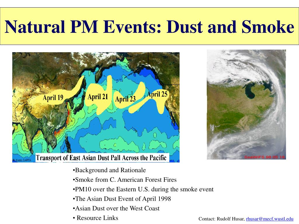 natural pm events dust and smoke l.