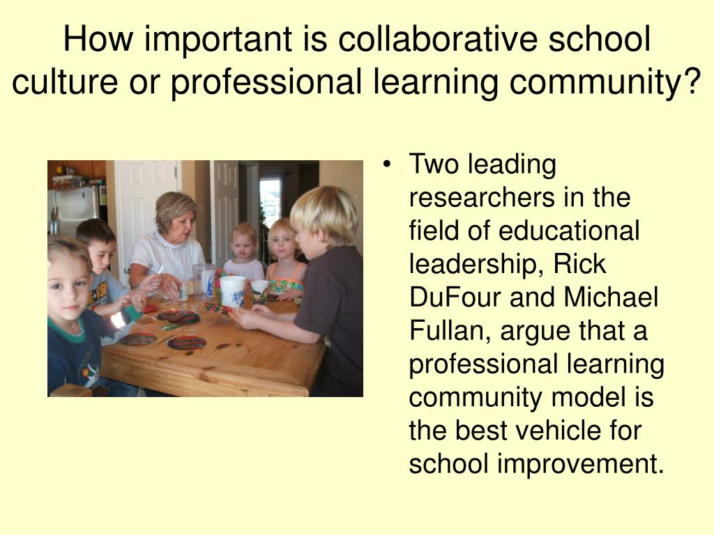 dufour r 2004 what is a professional learning community educational leadership 61 8 6 11