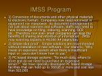 imss program