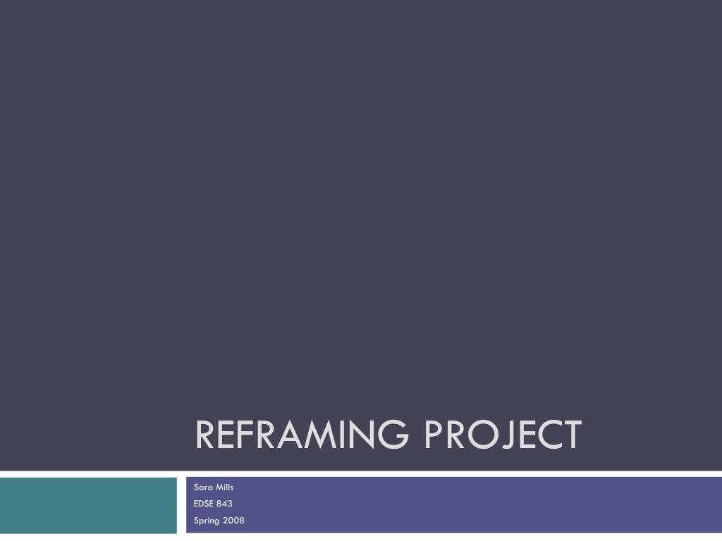 reframing project l.