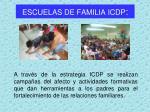 escuelas de familia icdp