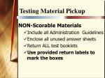 testing material pickup20
