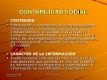 contabilidad social
