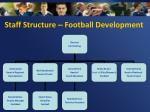 staff structure football development