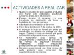 actividades a realizar13
