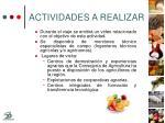 actividades a realizar20