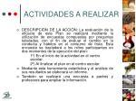 actividades a realizar24