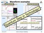 waveform examples