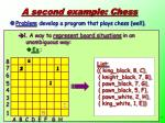 a second example chess