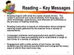 reading key messages13