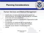 planning considerations46