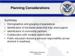 planning considerations50