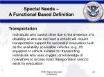 special needs a functional based definition23