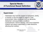 special needs a functional based definition24
