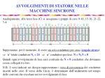 avvolgimenti di statore nelle macchine sincrone10