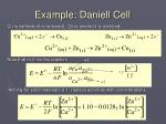 example daniell cell