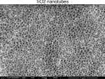 tio2 nanotubes