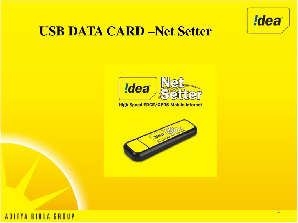 usb data card net setter l.