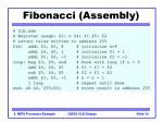 fibonacci assembly14