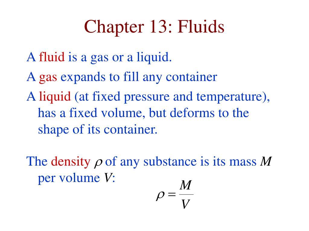chapter 13 fluids l.