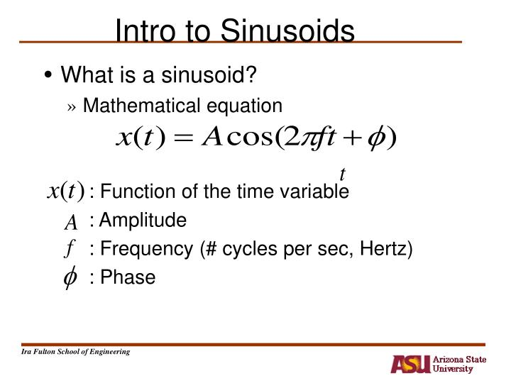 intro to sinusoids n.