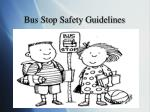 bus stop safety guidelines