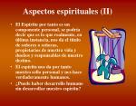 aspectos espirituales ii