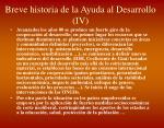 breve historia de la ayuda al desarrollo iv