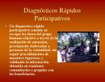 diagn sticos r pidos participativos