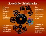 sociedades subsidiarias