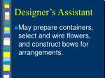 designer s assistant37