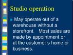 studio operation18