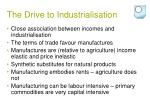 the drive to industrialisation5