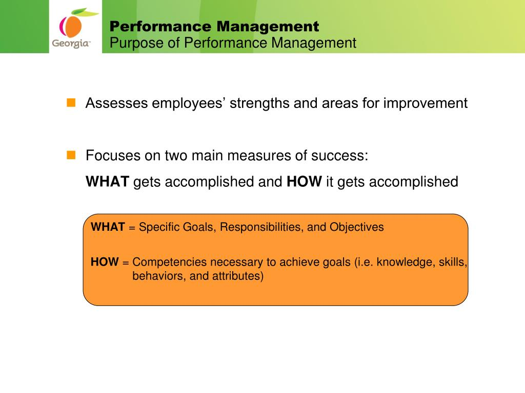 PPT - GEORGIA ePERFORMANCE MANAGEMENT PowerPoint Presentation - ID