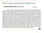dzie a jana sebastiana bacha c d7