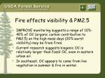 fire effects visibility pm2 5