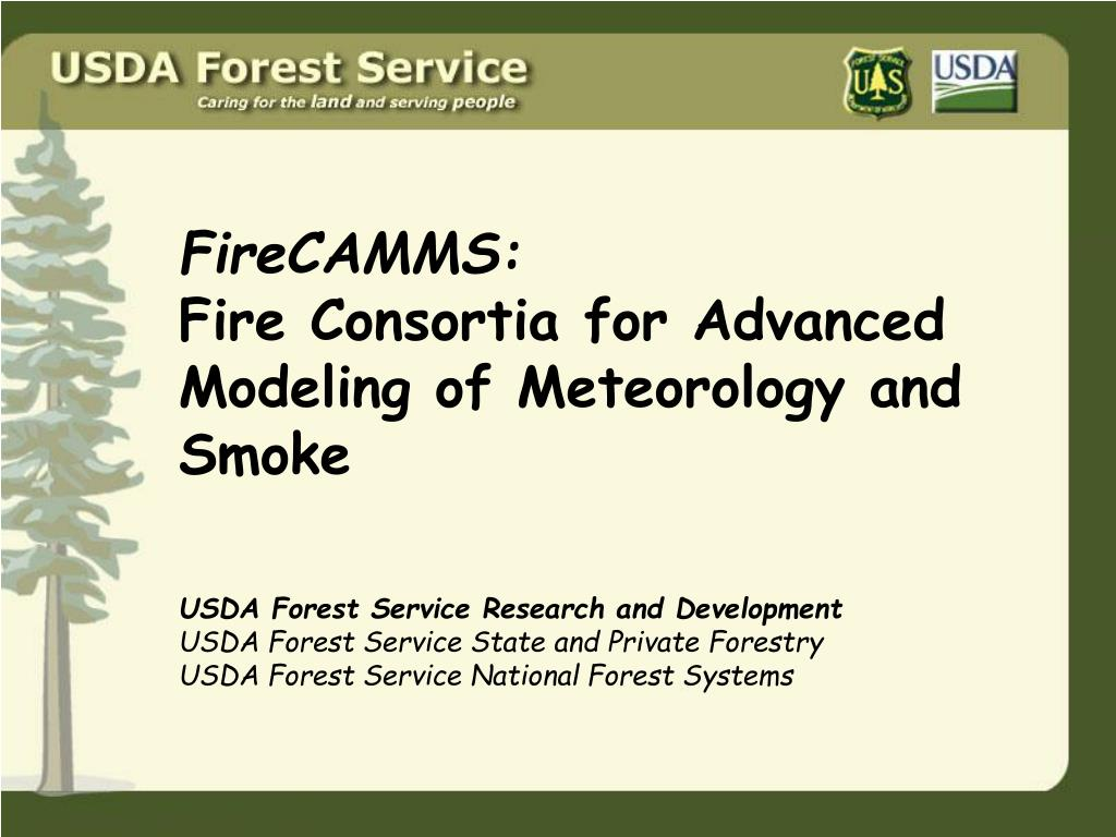 firecamms fire consortia for advanced modeling of meteorology and smoke l.
