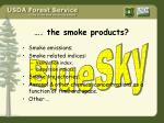 the smoke products