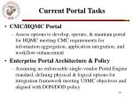 current portal tasks