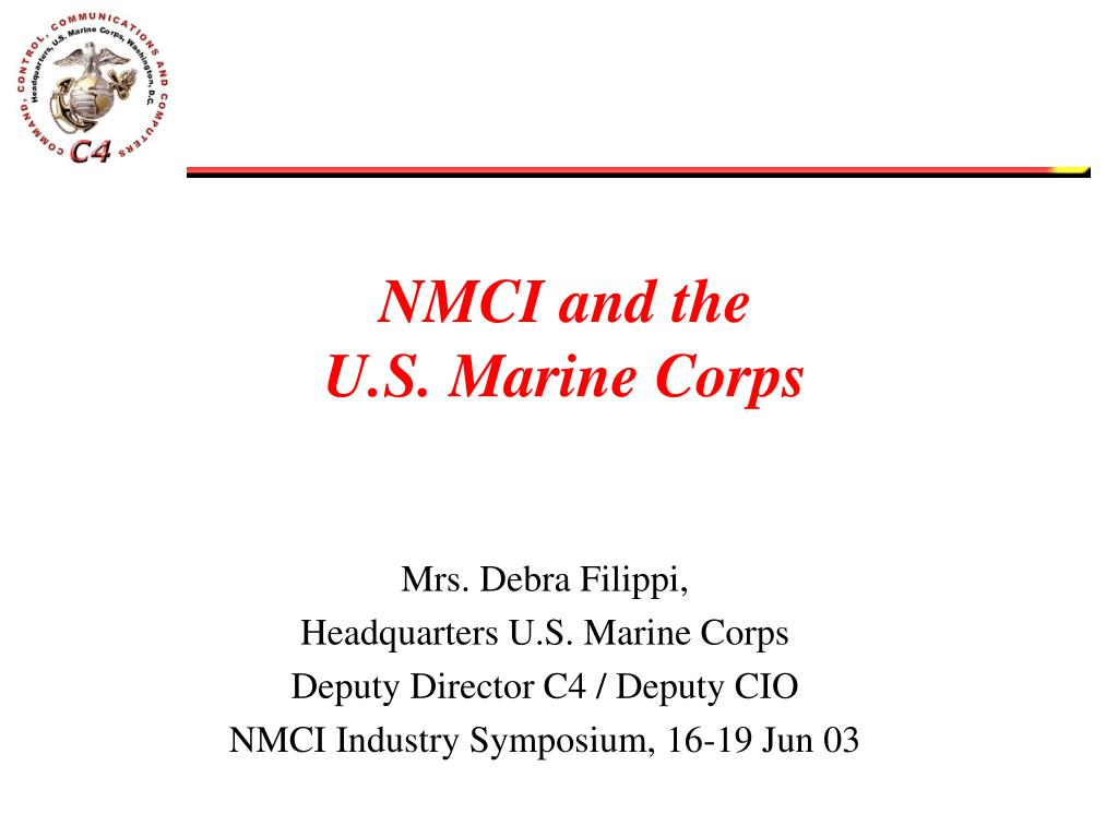 nmci and the u s marine corps l.