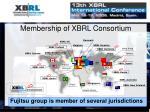 membership of xbrl consortium