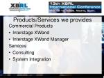 products services we provides