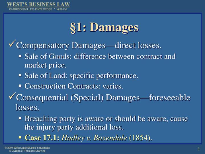 1 damages
