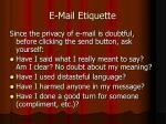 e mail etiquette59