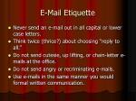 e mail etiquette60