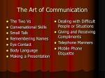 the art of communication3