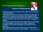 marketisation of education14