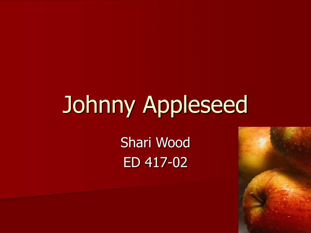 johnny appleseed l.