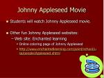 johnny appleseed movie