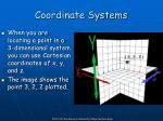 coordinate systems3